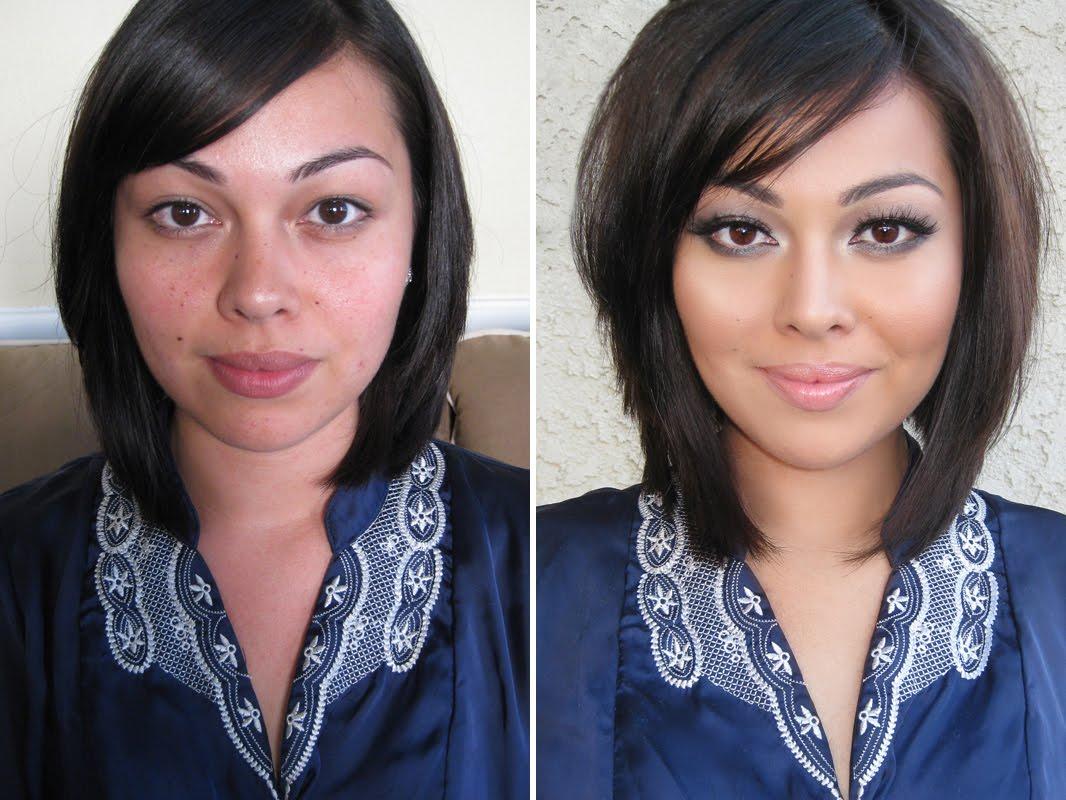 Astrid Gonzalez - Makeup: Before u0026 After Makeup