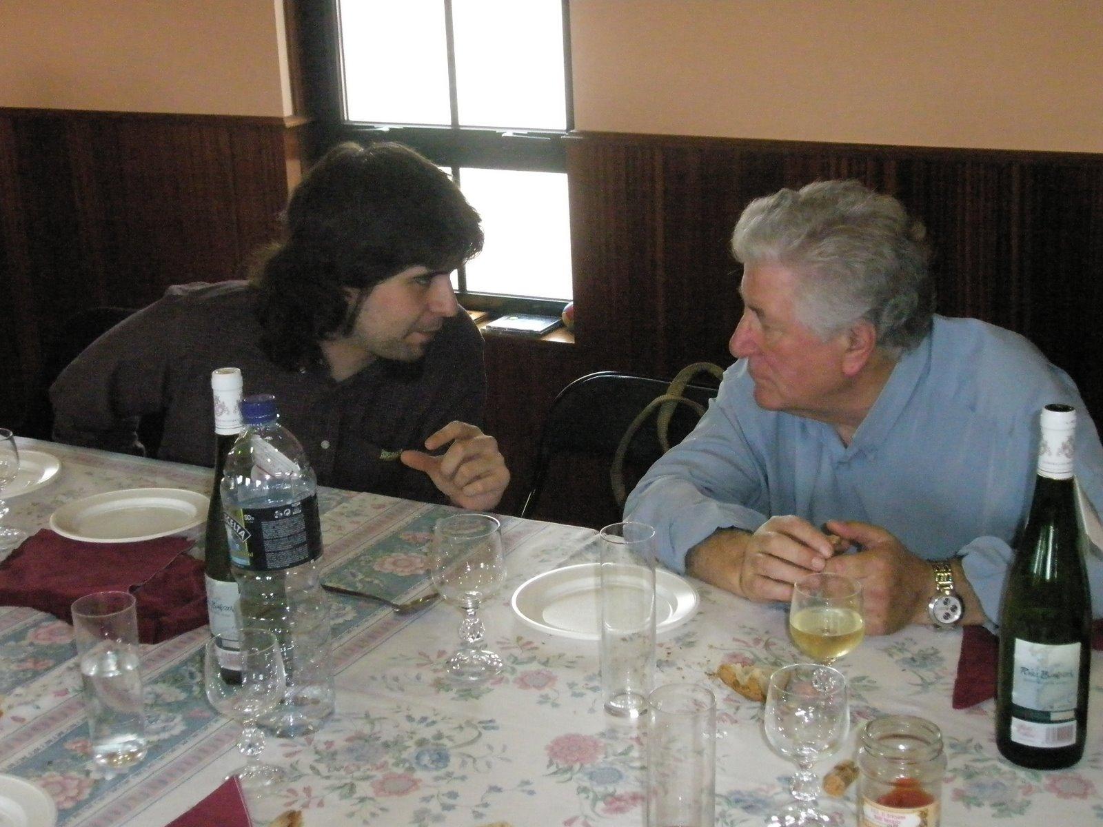 Dous Bernardos conversando