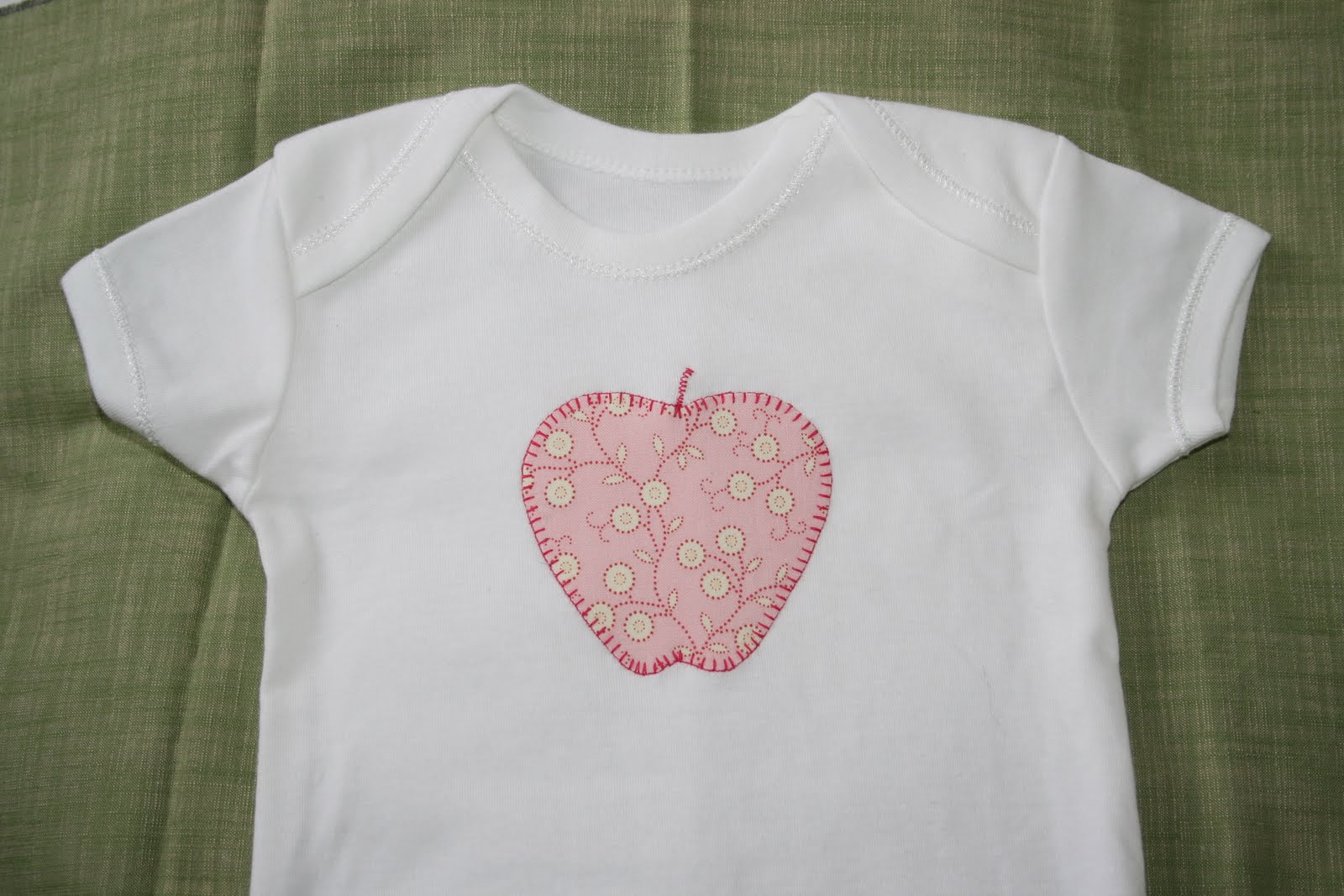Personalized anchor applique shirt or bodysuit girl or boy