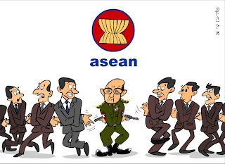">New year message from Burmese Junta to its neighbors – Vote ""YES"" or else !!!"