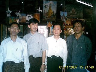 >88 Generation Stduents – Ko Ko Gyi, Min Ko Naing, Pyone Cho & Htay Kywe – January 11th 2007