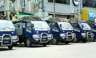 >Security tightened in Rangoon – Photos