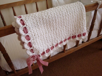 Make It: Ribbon Blanket for Baby - I Can Teach My Child!