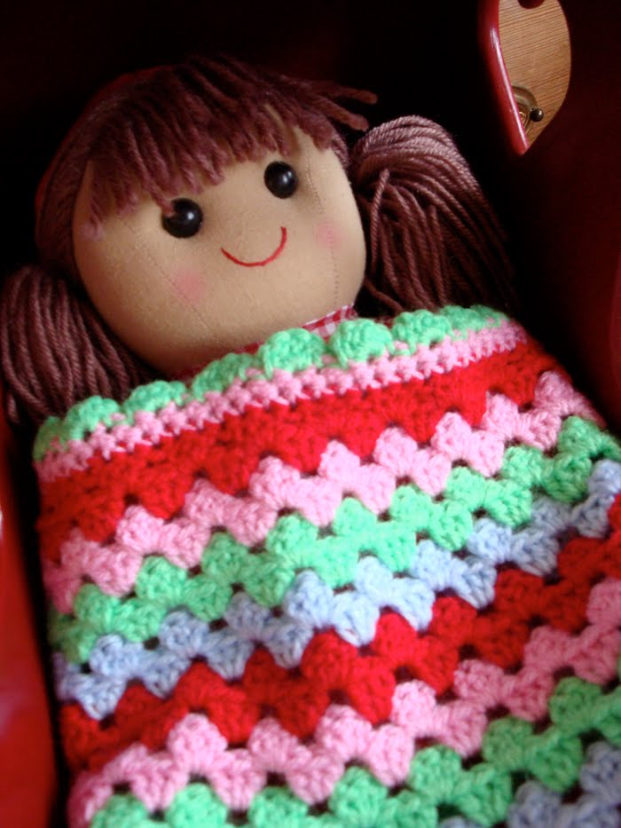 Crochet Pattern For Dolls Pram Blanket : Julia Staite - Illustration, design and crafty things ...