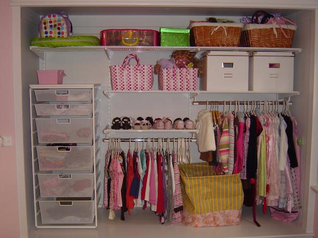 Closet Organizer | Organizingmadefun.com