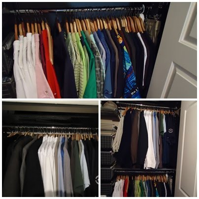 Organizing Your Bedroom Closet | organizingmadefun.com