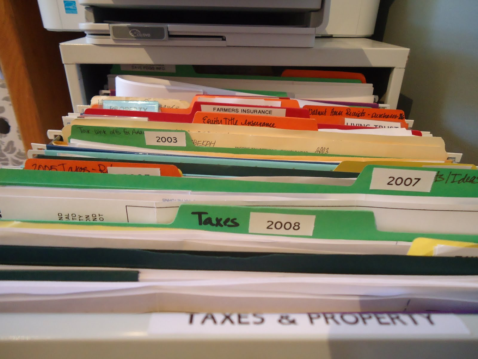 Whatu0027s Your Filing System   (part 2) Organizing Your Office