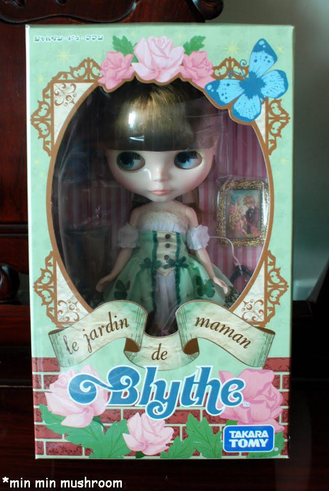 Min min mushroom 39 s toy box neo blythe le jardin de maman for Blythe le jardin de maman