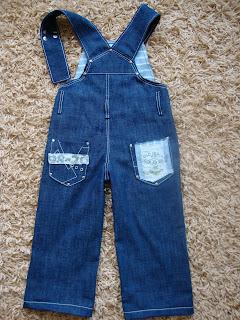 Детский комбинезон джинсовый сшить своими руками 78