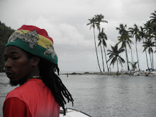 Our Rastafarian Watertaxi Man to Jalousie