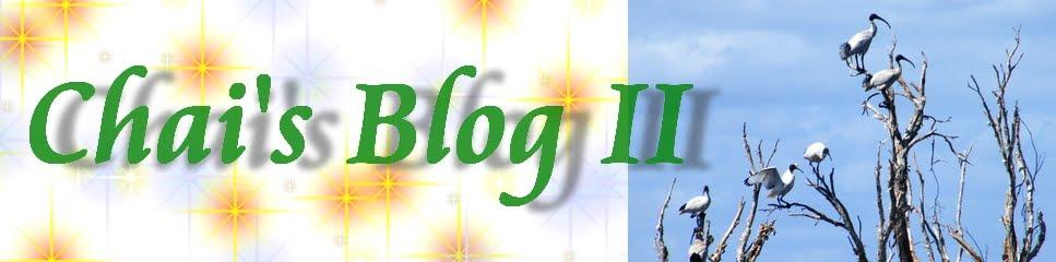 Chai's Blog II