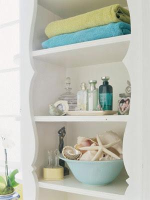 Decor design decorate with seashells - Sea themed bathroom decor ...