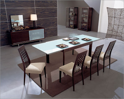 Modern Contemporary Dining Room Sets on Decor Design  Modern Dining Sets