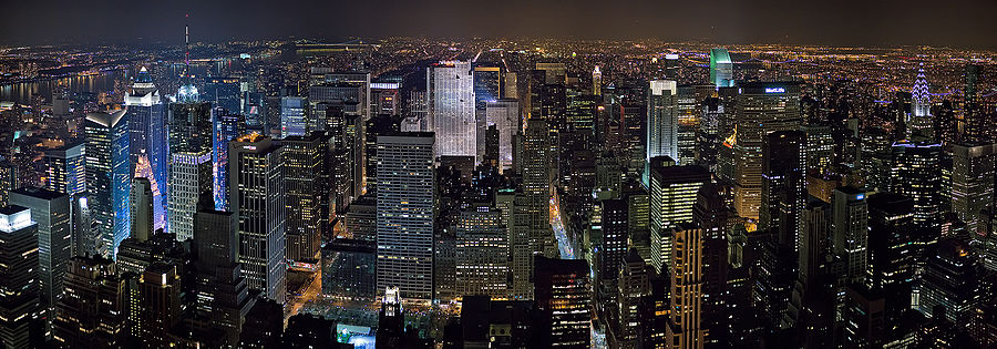 New York City Skyline Wallpaper. new york city skyline at night