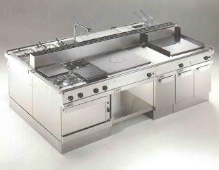 Dise o restaurantes 2009 investigacion cocina industrial for Fotos de cocinas industriales