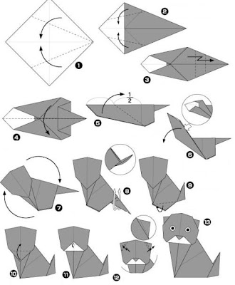 Origami Black Cat Make Easy Origami Instructions Kids