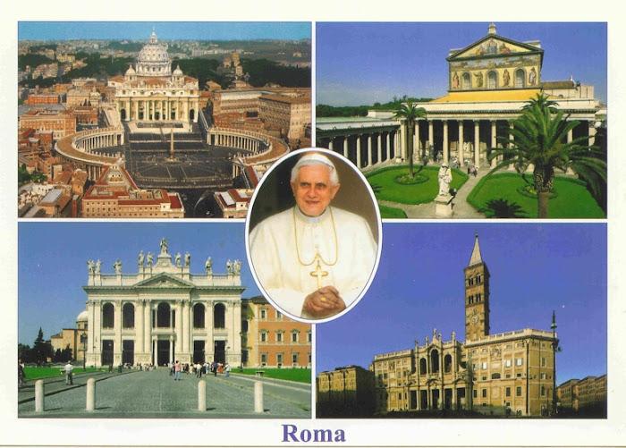 Roma con il Papa (cartolina)... Noi di ACR dal PAPA ci siamo stati e ...