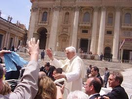 Benedetto..XIV.. il Papa del DIALOGO.. con ACR e la gente 2008!