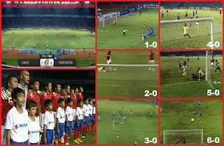 Video Indonesia vs laos