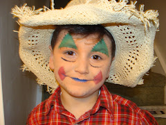 Scarecrow Face Paint http://paintingfunfaces.blogspot.com/2009/08/more-face-painting-pix.html