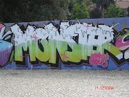 Mural Monster em Entrecampos
