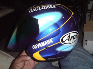 Arai Yamaha Gauloises