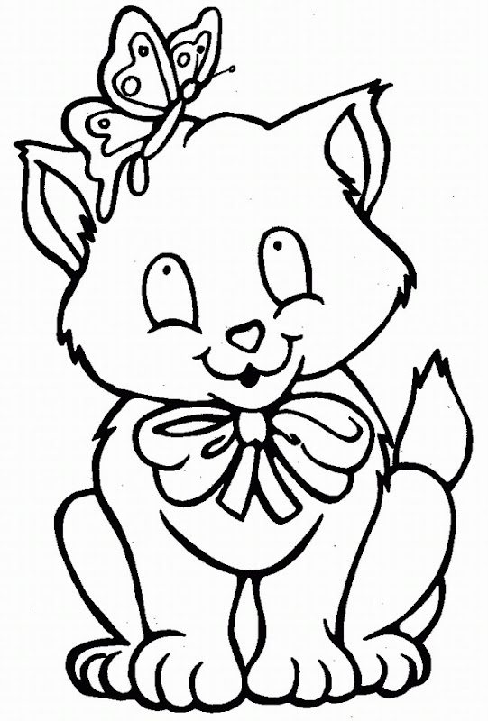 kitty cat coloring pages kitty cat coloring pages kitty cat title=