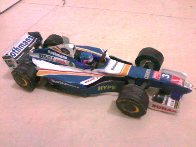 Williams 1997 Villeneuve
