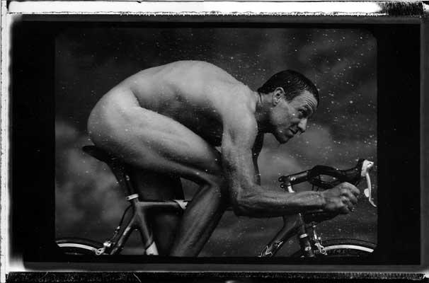 Lance Armstrong bajo la mirada de Annie Leibovitz
