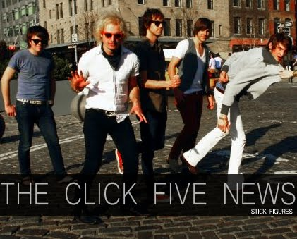 The Click Five News