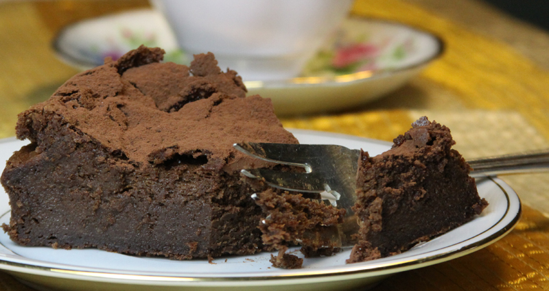... Rostang's Double Chocolate Mousse Cake-French Fridays with Dorie
