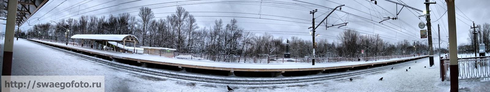 Колпино.Вокзал.Панорама