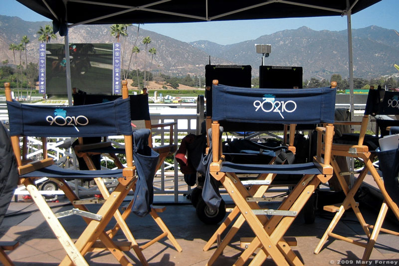 90210 shooting at Santa Anita