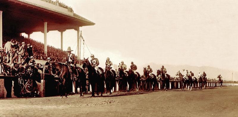 Agua Caliente Handicap Post Parade 1930