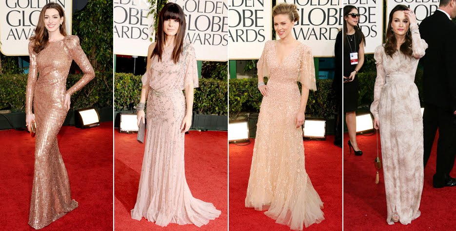 Anne Hathaway 68th Annual Golden Globe Awards. Anne Hathaway - Sandra Bullock