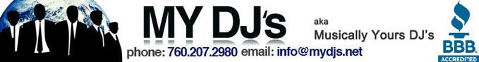 MY DJ's San Diego DJ Blog