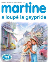 Martine loupe la Gay-Pride