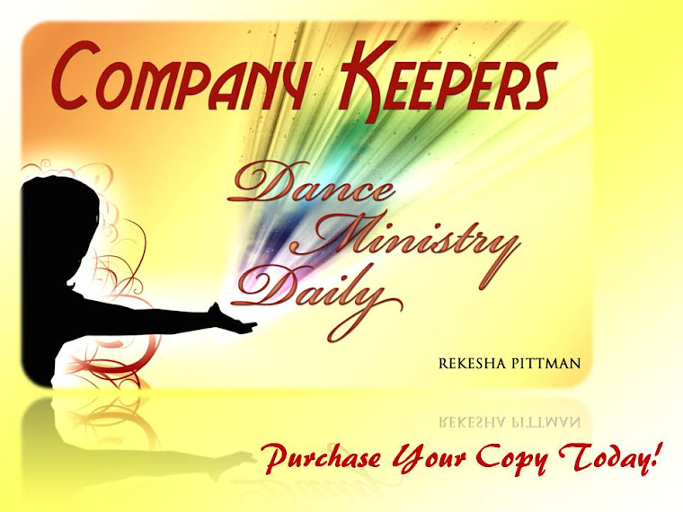 Company Keepers: Dance Ministry Daily Book!