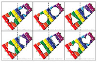 Flannel Friday: Complete Letter Puzzles - storytime katie