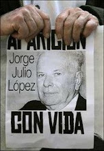 ¿Adónde está Julio López?