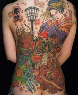 Japanese Tattoo Art - History And Transitions 