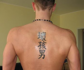 Japanese Tattoo Letters Designs
