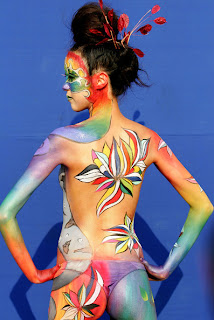 Popular Canadian Body Painting