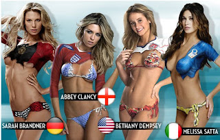 2010 World Cup Body Paint
