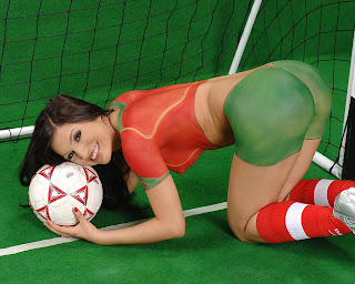 Portugal Soccer Body Painting