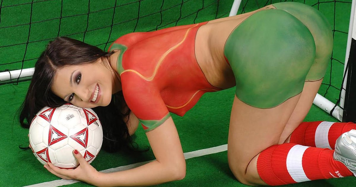 sex world cup body paint