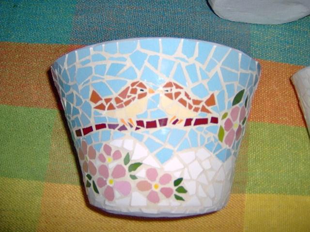 Artel mosaicos vasos ceramica de parede for Mosaico ceramica