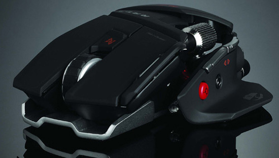 mad catz cyborg rat gaming mouse thumb