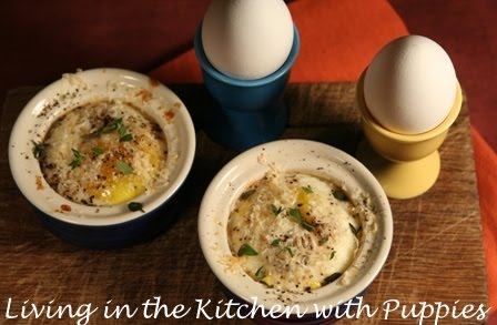 Living in the Kitchen with Puppies: Italian Style Baked Eggs