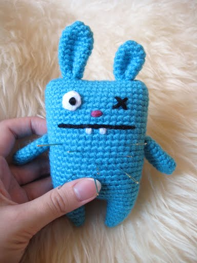 Amigurumi Monster Patterns : 2000 Free Amigurumi Patterns: Ugly bunny pincushion and ...